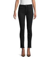 r13 women's alison skinny jeans - rinsed black - size 25 (2)