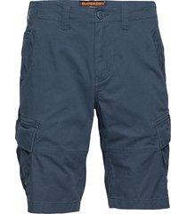 core cargo shorts shorts cargo shorts blå superdry