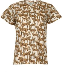 t-shirt met luipaardprint jeremy  dierenprint
