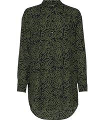 example blouse lange mouwen groen munthe
