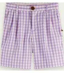 scotch & soda longer length check shorts