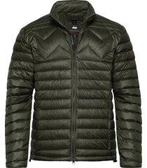 ms featherlight jacket fodrad jacka grön mountain works