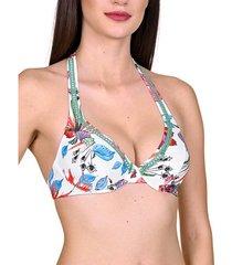 bikini lisca jamaica armature halter swimsuit top
