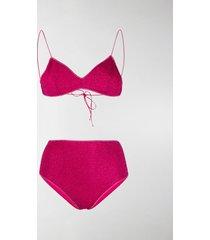 oséree lurex bikini set