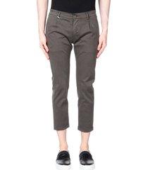grey daniele alessandrini 3/4-length shorts