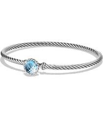 david yurman 'color classics' bangle bracelet, size large in blue topaz at nordstrom