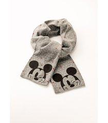 sciarpa con mickey mouse (nero) - disney