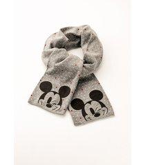 sciarpa mickey mouse (nero) - bonprix