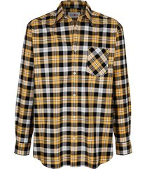 overhemd roger kent geel::marine