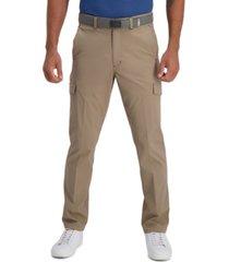 haggar men's the active series free trek straight-fit ripstop cargo pants