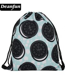 3d printing women drawstring bag food backpack backpacks s95