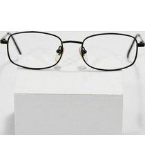new authentic fossil sam black metal flex hinged eyeglass sunglass frames