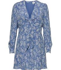 heidiee kort klänning blå ted baker