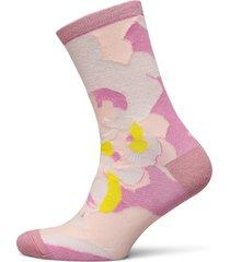 slfvida sock b lingerie socks regular socks rosa selected femme