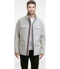 tommy hilfiger men's essential field jacket oyster - xxl