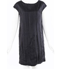 brunello cucinelli pleated silk dress