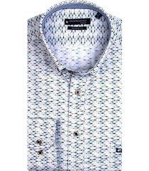 giordano shirt km casual print donkergroen