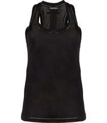 tom ford scoop-neck bodysuit - black