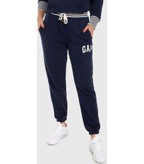 pantalón azul navy-blanco gap