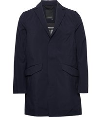 moore-3l mech stretch trench coat rock blå j. lindeberg