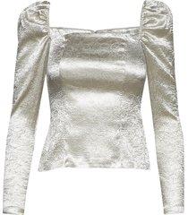 nomie blouse 12734 blouse lange mouwen wit samsøe & samsøe