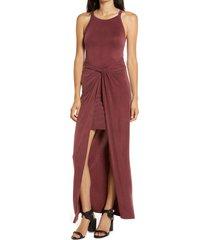 women's allsaints sami sleeveless maxi dress