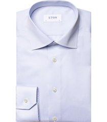 eton overhemd lichtblauw effen classic fit