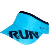 viseira running beat yourself azul - fastpace