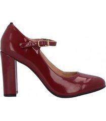 zapato alma burdeo mujer pasqualini