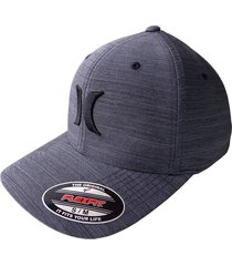 gorra hurley m s/m-gris oscuro