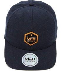 boné mcd speckled azul-marinho