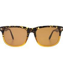 tom ford tom ford ft0775 havana & honey sunglasses