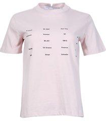 address and seasonal t-shirt