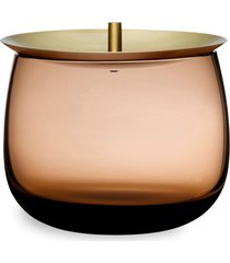 nude beret small storage box - brown