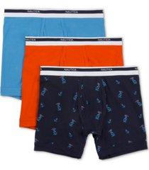 nautica men's 3-pk. stretch boxer briefs