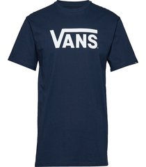 mn vans classic t-shirts short-sleeved blå vans