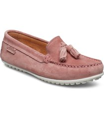 tassel driving loafer sde wmn loafers låga skor rosa marstrand
