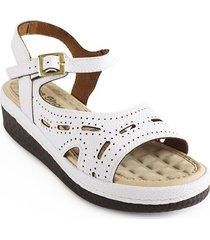 calzado para dama plataforma 5 1/2 blanco 6922080blanco