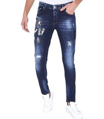skinny jeans true rise spijkerbroek s