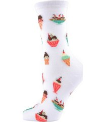 memoi sundae women's novelty socks