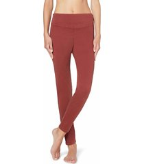 calzedonia - leggings jeans skinny, xs, red, women