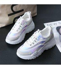 zapatillas clunky de plataforma popular para mujeres últimas zapatillas de