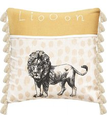 poduszka dekoracyjna lion 40x40 cm