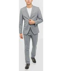 selected homme slhslim-mylologan light grey kavajer & kostymer