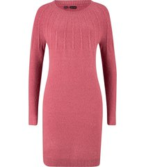 abito in maglia con coste (fucsia) - bpc bonprix collection