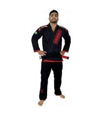 kimono jiu jitsu keiko ouro - preto