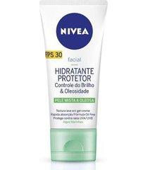 creme hidratante facial nivea visage beauty protector pele oleosa 50g