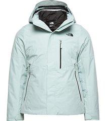 w garner triclimate jacket cloud bl outerwear sport jackets blå the north face
