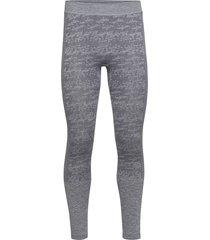 free recy men's seamless base layer pants base layer bottoms grå halti