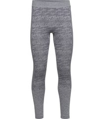 free recy men's seamless base layer pants base layer bottoms grå halti